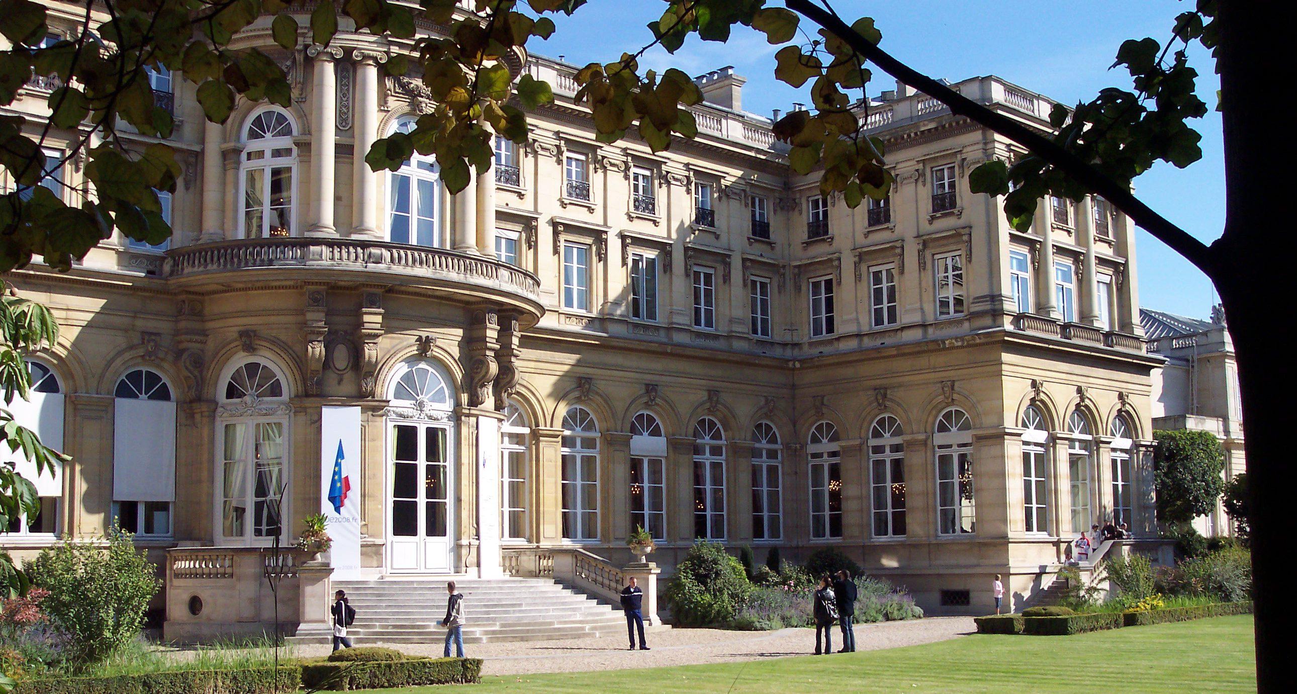 Hôtel du Ministère des Affaires étrangères