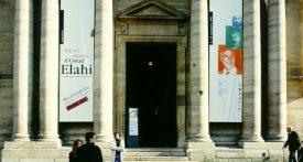 Exposition Vie et œuvre d'Ostad Elahi, Sorbonne 1995