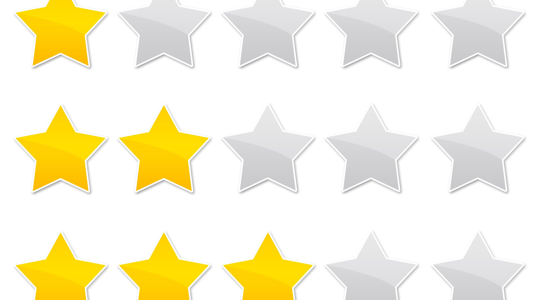 notation étoiles